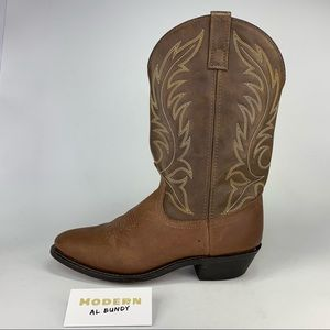 Laredo Western Boots Brown Leather Womens Sz 7